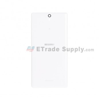 For Sony Xperia C5 Ultra Battery Door Replacement - White - With Logo - Grade S+ (1)