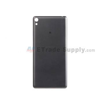 For Sony Xperia E5 Battery Door Replacement - Black - With Logo - Grade S+ (0)