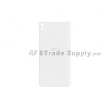 For Sony Xperia E5 Battery Door Replacement - White - With Logo - Grade S+ (0)