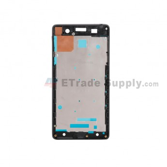 For Sony Xperia E5 Front Housing Replacement - Black - Grade S+ (1)
