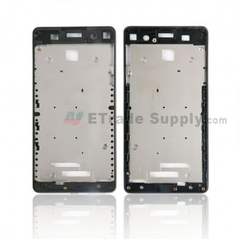 For Sony Xperia E5 Front Housing Replacement - Black - Grade S+ (3)