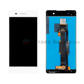 For Sony Xperia E5 LCD Screen and Digitizer Assembly Replacement - White - With Logo - Grade S+ (0)