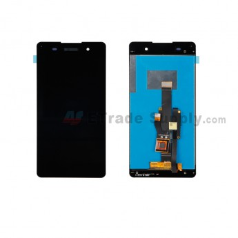 For Sony Xperia E5 LCD and Digitizer Assembly Replacement - Black - With Logo - Grade S+ (6)