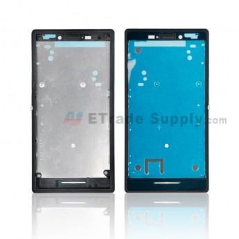 For Sony Xperia M2 Front Housing Replacement - Black - Grade S+ (0)