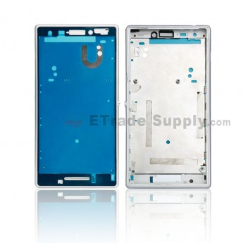 For Sony Xperia M2 Front Housing Replacement - White - Grade S+ (0)