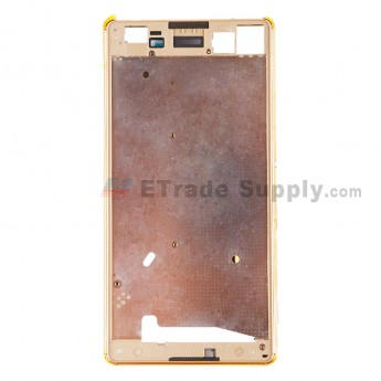 For Sony Xperia M5 Front Housing Replacement - Gold - Grade S+ (1)