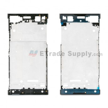 For Sony Xperia XA1 Front Housing Replacement - Black - Grade S+ (0)