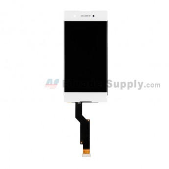 For Sony Xperia XA1 LCD Screen and Digitizer Assembly Replacement - White - With Logo - Grade S+ (0)