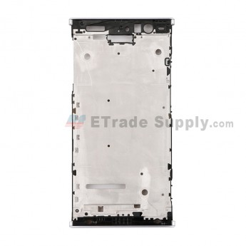 For Sony Xperia XA2 Front Housing Replacement - Silver - Grade S+ (0)