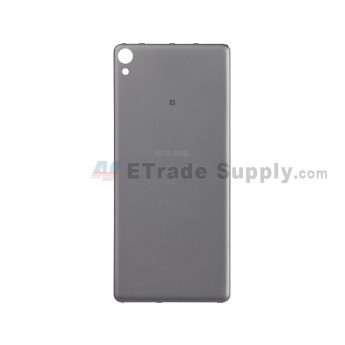 For Sony Xperia XA Battery Door Replacement - Black - With Logo - Grade S+ (1)
