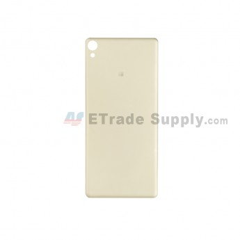 For Sony Xperia XA Battery Door Replacement - Gold - With Logo - Grade S+ (0)