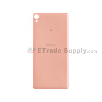 For Sony Xperia XA Battery Door Replacement - Rose Gold - With Logo - Grade S+ (0)