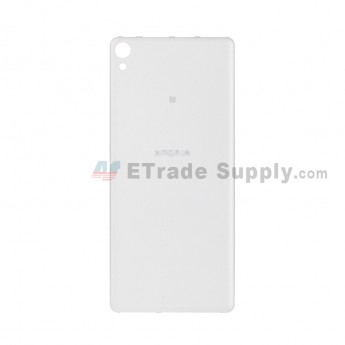 For Sony Xperia XA Battery Door Replacement - White - With Logo - Grade S+ (1)