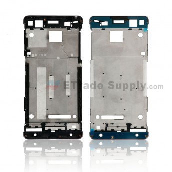 For Sony Xperia XA Front Housing Replacement - Black - Grade S+ (0)