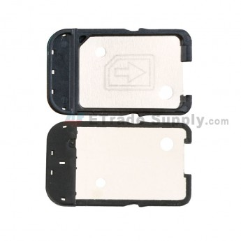 For Sony Xperia XA Single SIM Card Tray Replacement - Black - Grade S+ (4)