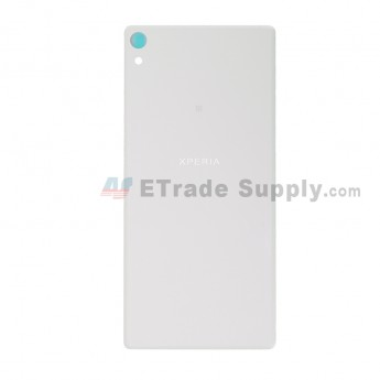 For Sony Xperia XA Ultra Battery Door Replacement - White - With Logo - Grade S+ (0)