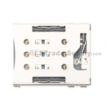 For Sony Xperia XA Ultra SIM Card Reader Contact Replacement - Black - Grade S+ (0)