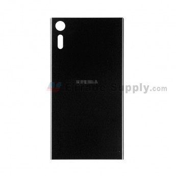 For Sony Xperia XZ Battery Door Replacement - Black - With Logo - Grade S+ (1)