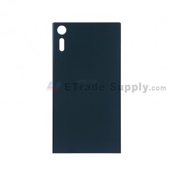 For Sony Xperia XZ Battery Door Replacement - Blue - With Logo - Grade S+ (2)