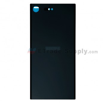 For Sony Xperia XZ Premium Battery Door Replacement - Black - With Logo - Grade S+ (0)
