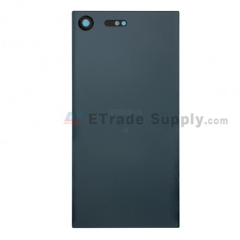 For Sony Xperia XZ Premium Battery Door Replacement - Black - With Logo - Grade S+ (7)