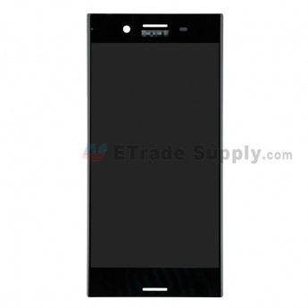 For Sony Xperia XZ Premium LCD Screen and Digitizer Assembly Replacement - Black - With Logo - Grade S+ (0)
