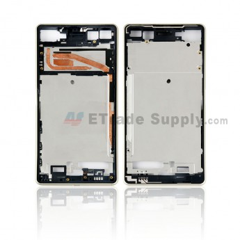 For Sony Xperia X Front Housing Replacement - Gold - Grade S+ (0)