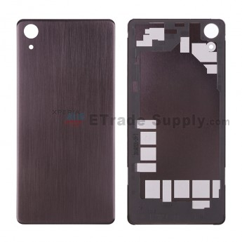 For Sony Xperia X Performance Battery Door Replacement - Black - Xperia Logo - Grade S+ (0)