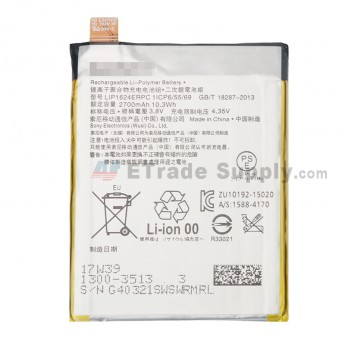For Sony Xperia X Performance Battery Replacement - Grade S+ (0)