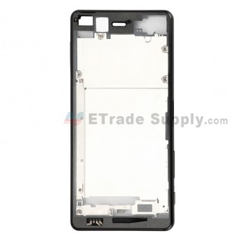 For Sony Xperia X Performance Front Housing Replacement - Black - Grade S+ (0)