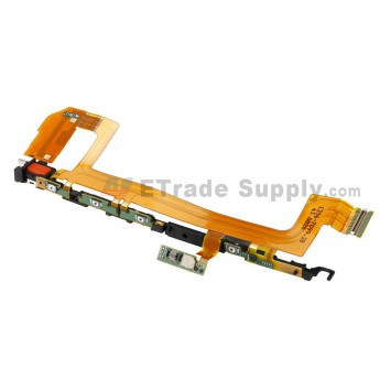 For Sony Xperia X Power Button and Volume Button Flex Cable Ribbon Replacement - Grade S+ (0)