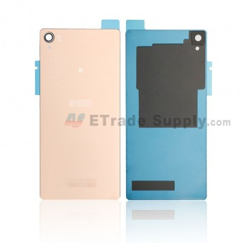 For Sony Xperia Z3 Battery Door Replacement - Copper - SN and Xperia Logo - Grade R (0)
