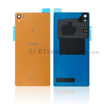 For Sony Xperia Z3 Battery Door Replacement (with NFC) - Copper - Sony and Xperia Logo - Grade S+ (0)