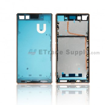 For Sony Xperia Z3+ Front Housing Replacement - Copper - Grade S+ (0)