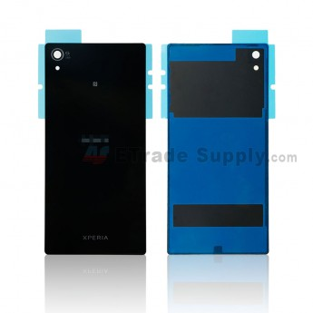 For Sony Xperia Z5 Premium Battery Door Replacement - Black - Sony and Xperia Logo - Grade R (0)