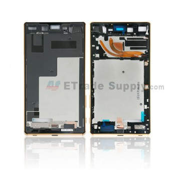 For Sony Xperia Z5 Premium Front Housing Replacement - Gold - Grade S+ (0)