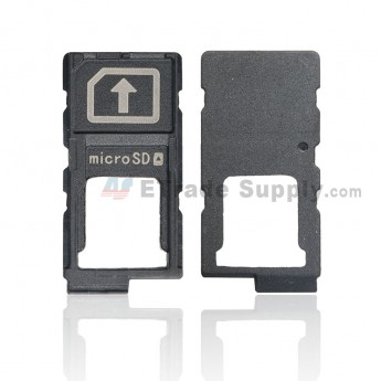 For Sony Xperia Z5 SIM Card and SD Card Tray Replacement - Grade S+ (0)