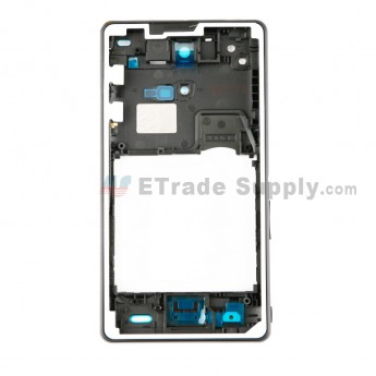 For Sony Xperia ZR M36h Front Housing Replacement - Black - Grade S+ (0)