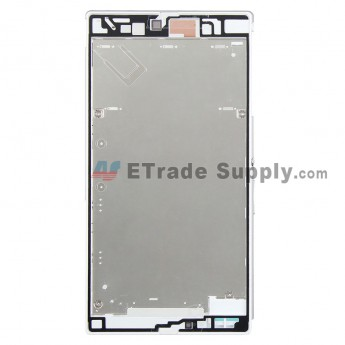 For Sony Xperia Z Ultra XL39h Front Housing Replacement - White - Grade S+ (0)