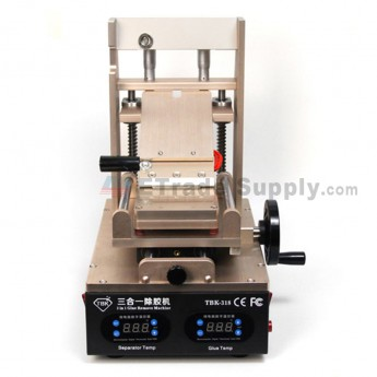 For TBK-318 3-in-1 LCD Refurbish Machine Vacuum LCD Separator+ Glue Remover+ Preheater (3)