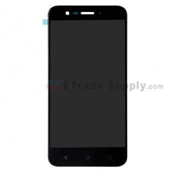 For VODAFONE Smart Prime 7 VFD 600 LCD Screen and Digitizer Assembly Replacement - Black - Without Logo - Grae S+ (0)