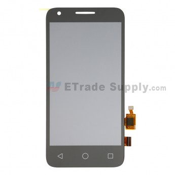 For Vodafone Smart Speed 6 VF795 LCD Screen and Digitizer Assembly Replacement - Black - Without Logo - Grade S+ (0)