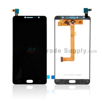 For Vodafone Smart ultra 7 VFD 700 LCD Screen and Digitizer Assembly Replacement - Black - Without Logo - Grade S+ (0)