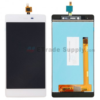 For Wiko Fever 4G LCD Screen and Digitizer Assembly Replacement - White - Without Any Logo - Grade S+ (0)