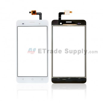 For Wiko Jerry Digitizer Touch Screen Replacement - White - Without Any Logo - Grade S+ (0)