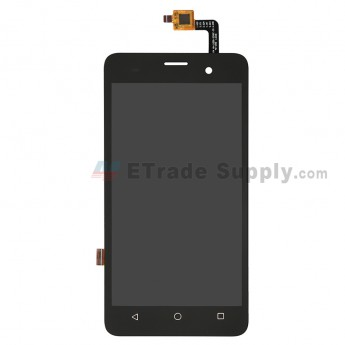 For Wiko Jerry LCD Screen and Digitizer Assembly Replacement - Black - Grade S+ (0)