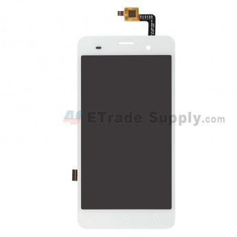 For Wiko Jerry LCD Screen and Digitizer Assembly Replacement - White - Grade S+ (0)