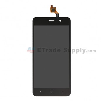 For Wiko Lenny 4 LCD Screen and Digitizer Assembly Replacement - Black - Grade S+ (0)