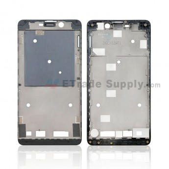 For Wiko Pulp Front Housing Replacement - Black - Grade S+ (0)