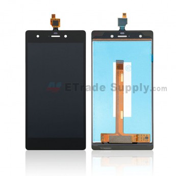 For Wiko Pulp LCD Screen and Digitizer Assembly Replacement - Black - Without Any Logo - Grade S+ (0)